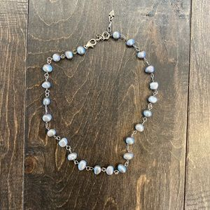 Silpada Grey Freshwater Pearl Necklace